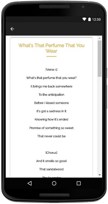 One Direction History Lyrics for Android - APK Download