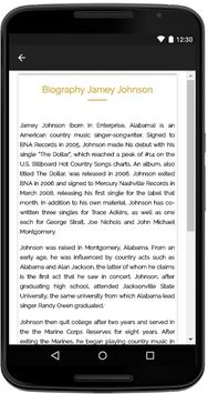 Jamey Johnson Songs Lyrics apk screenshot