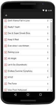 Kyle Songs Lyrics apk screenshot