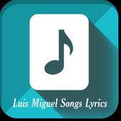Luis Miguel Songs Lyrics icon