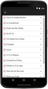 Luis Miguel Songs Lyrics screenshot 2