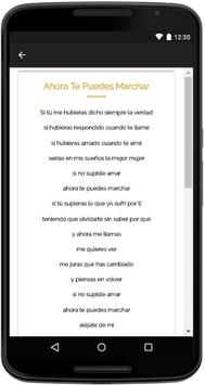 Luis Miguel Songs Lyrics screenshot 3