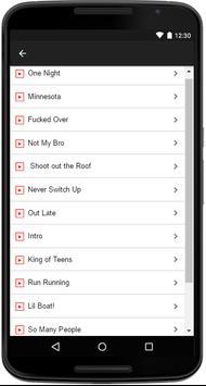 Lil Yachty Songs Lyrics apk screenshot