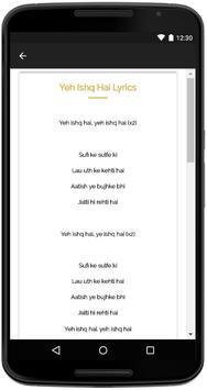 Rangoon Songs Lyrics apk screenshot