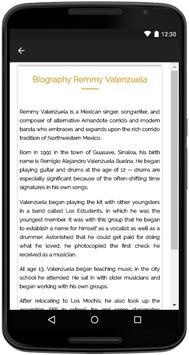 Remmy Valenzuela Songs Lyrics screenshot 4