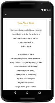 Sam Hunt Songs Lyrics apk screenshot