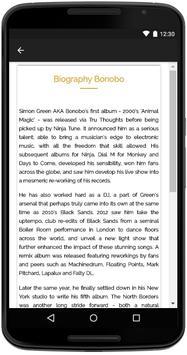 Bonobo Songs Lyrics screenshot 4