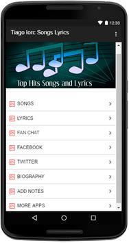 Tiago Iorc Songs Lyrics screenshot 1