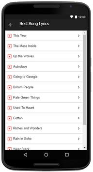 The Mountain Goats Songs apk screenshot