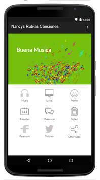 Nancys Rubias - Music And Lyrics apk screenshot