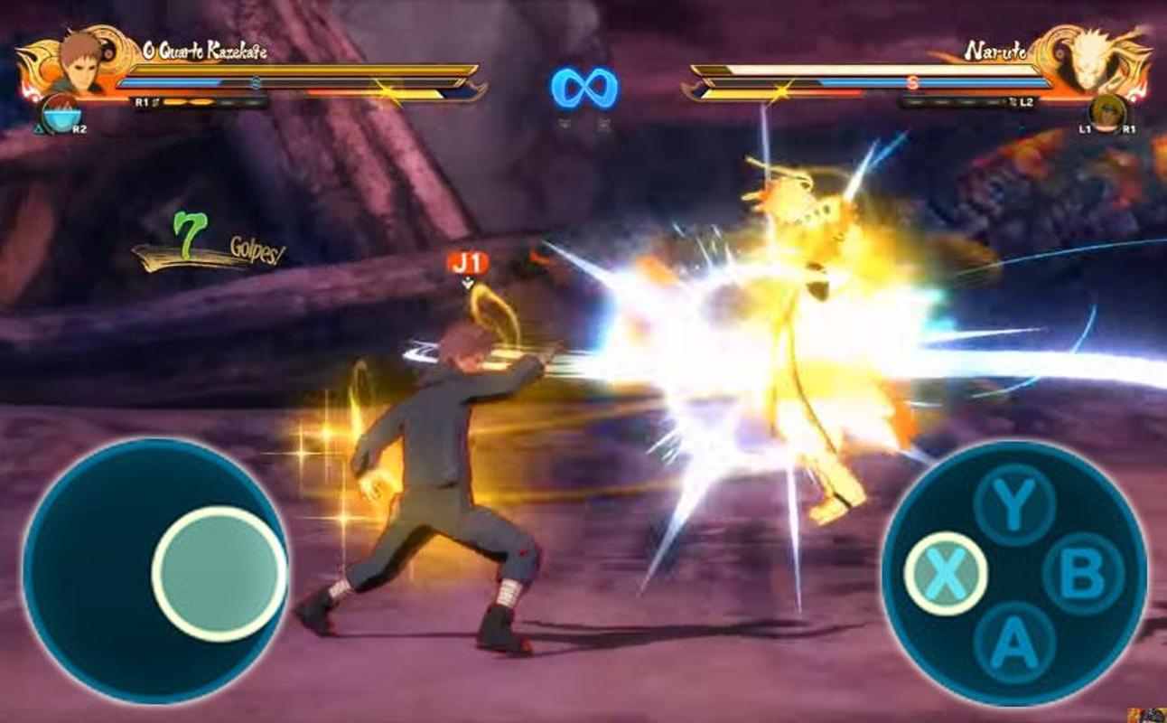 download game naruto shippuden online for android