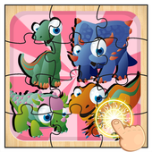 Dinosaur Park World Puzzle icon