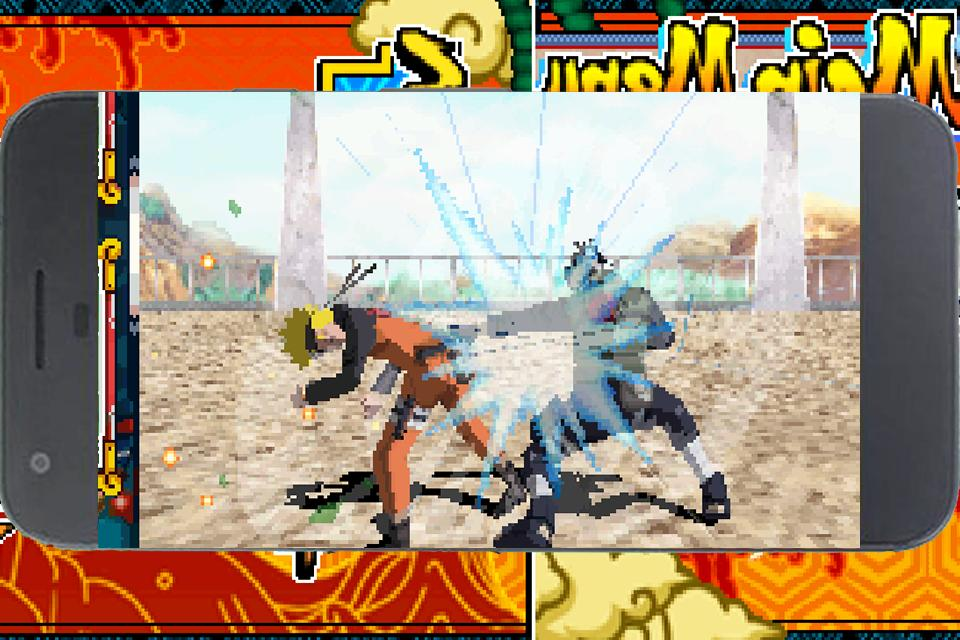 Naruto fighting dirty game #3