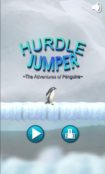 Hurdle Jumper ~Penguins~ poster
