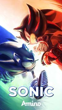 Sonic the Hedgehog Amino poster