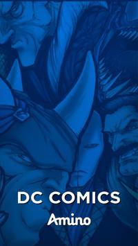 Super-Heróis Amino para DC Comics Fãs poster