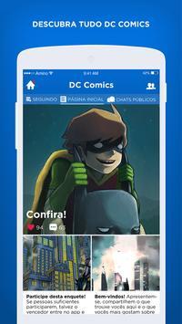Super-Heróis Amino para DC Comics Fãs apk screenshot