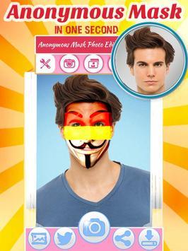 Anonymous Face Mask Camera apk screenshot