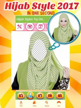 Hijab Styles 2017 - You Makeup apk screenshot