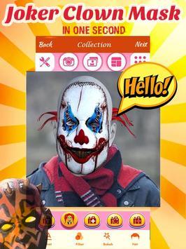 Joker Mask Photo Editor apk screenshot