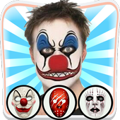 Scary Clown Face Changer icon