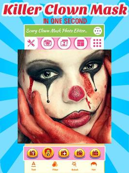 Scary Clown Face Changer apk screenshot