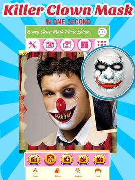 Scary Clown Face Changer poster