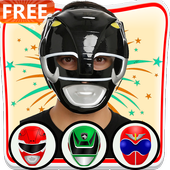 Rangers Mask Photo Editor icon