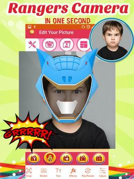 Rangers Mask Photo Editor screenshot 2