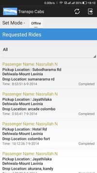 Transpo Cabs screenshot 2