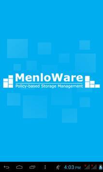 MenloWare NASCloud poster