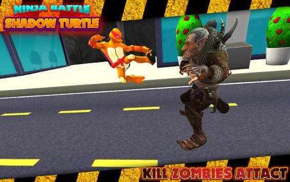 Ninja Battle Shadow Turtle screenshot 1