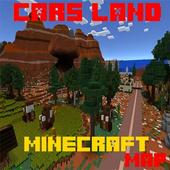 Mod Cars Land Map MCPE icon