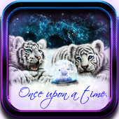 Tiger White Tale LWP icon
