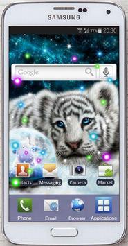 Tiger White Tale LWP screenshot 4