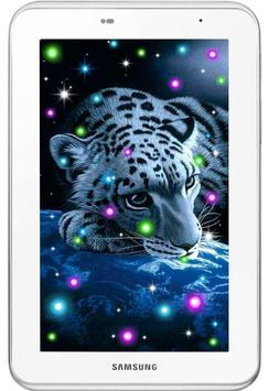 Tiger White Tale LWP screenshot 5