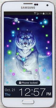 Tiger White Tale LWP screenshot 2