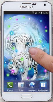 Tiger White Tale LWP screenshot 3