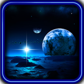 Space Deep HQ live wallpaper icon