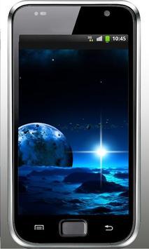 Space Deep HQ live wallpaper apk screenshot