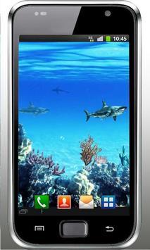 Sharks Predator live wallpaper apk screenshot