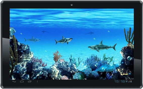 Sharks Predator live wallpaper poster