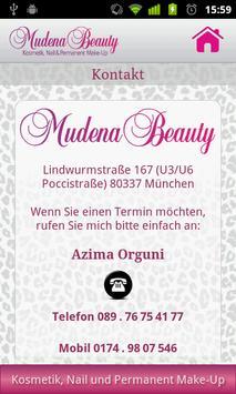 Mudena Beauty apk screenshot