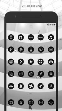 Dark Void - Black Circle Icons (Free Version) apk screenshot