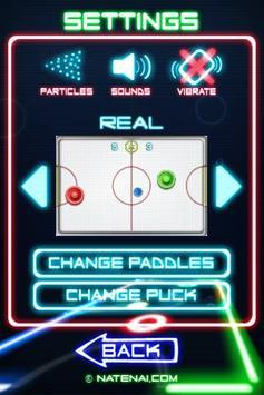 Glow Hockey 2 تصوير الشاشة 2