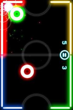 Glow Hockey 2 تصوير الشاشة 4