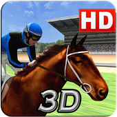 Virtual Horse Racing 3D icon