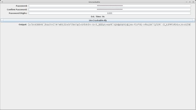 Uncrackable apk screenshot