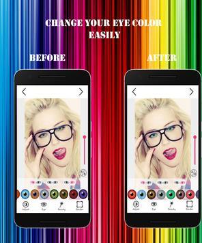 Hair eyes color changer screenshot 5