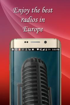 european radio stations free chill poster